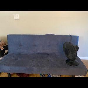 Blue IKEA futon